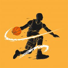 Basketball Dribble Dark Flame Silhouette : Discover thousands of Premium vectors available in AI and EPS formats Basketball Shirts, Basketball Drawings, Basketball Posters, Basketball Workouts, Basketball Design, Basketball Funny, Basketball Art, Basketball Pictures, Football Art