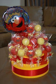 Elmo 'Cake Pop' cake