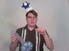 Snow Flake or Star of David Balloon tutorial