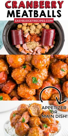 Meatballs make the perfect appetizer for Thanksgiving, Christmas, New Year's Eve, or any other gathering. For more appetizer ideas, follow Easy Budget Recipes! Meat Appetizers, Appetizer Ideas, Thanksgiving Appetizers, Thanksgiving Recipes, Appetizer Recipes, Christmas Appetizers, Party Appetizers, Snack Recipes, Side Dish Recipes