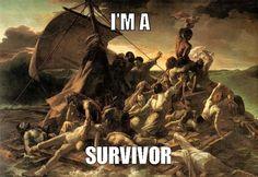 "Theodore Gericault, ""The Raft of the Medusa"" / Destiny's Child, ""Survivor"""