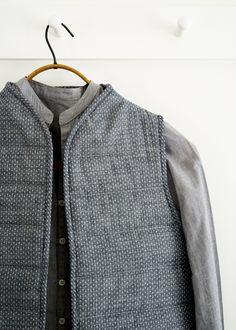 Quilted Vest | The Purl Bee
