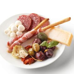 Antipasto Platter. My favorite snacks. Wish I had this in front of me right now!