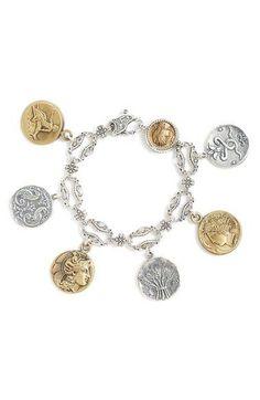 'Kerma' Coin Charm Bracelet