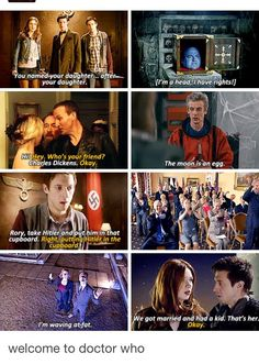 WELCOME TO DOCTOR WHO