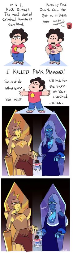 Steven always seems to have a hard time convincing others about his identity... | Steven Universe | Know Your Meme