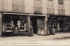 Le Bureau des Nourrices de la rue du Cherche-Midi, vers 1905 (Paris 6e/15e)