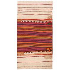 Nomadenkelim Webteppich Bakhtiar bunt von KHODAI-Handmade Carpets