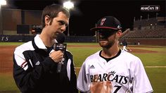 The Cincinnati Bearcat baseball team performed a ritual sacrifice…   The 12 Sports Figures Who Changed The Photobomb Game In 2013
