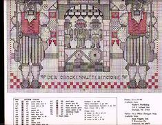Cross stitch pattern The Nutcracker Factory 03