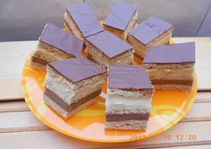 Marika szelet | zuborandi receptje - Cookpad receptek Hungarian Cake, Hungarian Recipes, Hungarian Food, Cake Cookies, I Foods, Cheesecake, Yummy Food, Delicious Meals, Food And Drink