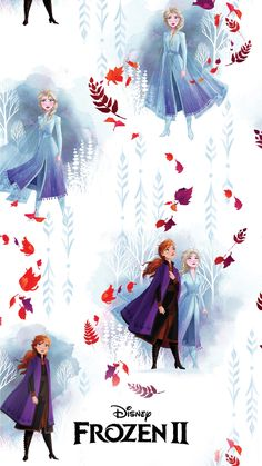 These Disney's Frozen 2 Mobile Wallpapers Will Put You In A Mood For Adventure Frozen Disney, Sven Frozen, Elsa Frozen, Frozen Musical, Frozen Movie, Frozen Theme, Frozen 2 Wallpaper, Cute Disney Wallpaper, Cartoon Wallpaper
