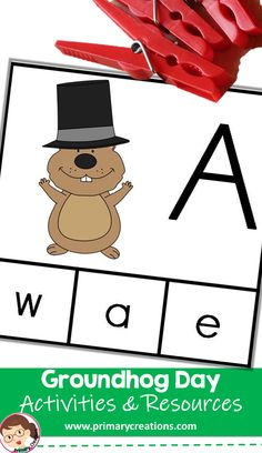 With this Groundhog Day PreK activity children will develop their emergent literacy skills by matching uppercase and lowercase letters. Preschool Printables, Preschool Ideas, Preschool Crafts, Groundhog Day Activities, Pre K Activities, Emergent Literacy, Uppercase And Lowercase Letters, Literacy Skills, Tot School