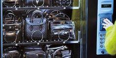 Ahahaaa: Handbag vending machine (featuring Hermes, Alexander McQueen, etc.)