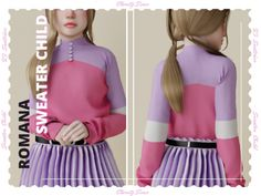 Free Downloads, Sims Cc, Children, Sweaters, Young Children, Boys, Kids, Sweater, Child