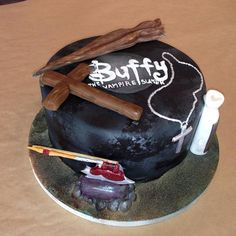 Buffy The Vampire Slayer  The 30 Most Awesome Themed Cakes Will Completely Amaze You • Page 5 of 6 • BoredBug