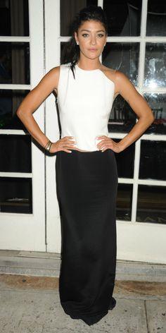 Fabulously Spotted: Jessica Szohr Wearing Kaufmanfranco - Many Hopes Gala  - http://www.becauseiamfabulous.com/2013/06/jessica-szohr-wearing-kaufmanfranco-many-hopes-gala/