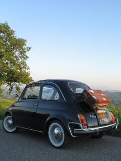 On the road with  Fiat500