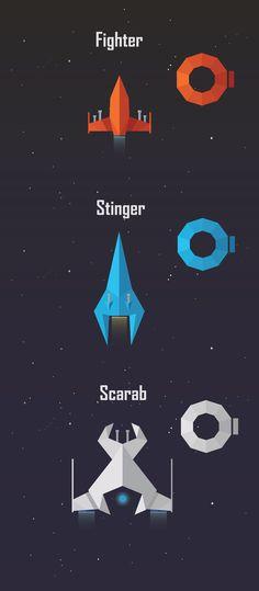 Space Merchant by Artem Merenfeld, via Behance