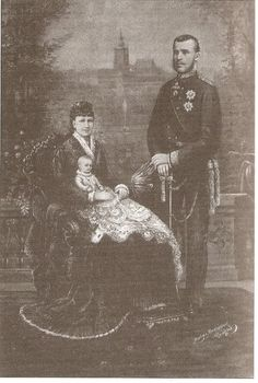 "Rudolf, Stephanie and baby ""Erzsi"" Austria, Romanian Royal Family, Franz Josef I, Vice Versa, Holy Roman Empire, Princess Stephanie, The Empress, Her World, France"
