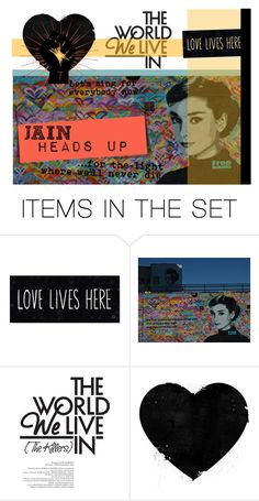 """Jain: Heads Up (song link)"" by cdshep ❤ liked on Polyvore featuring art"