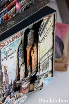 Travel Album City Scapes by Marina Blaukitchen, Product by Graphic 45