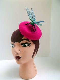 Fly+Away+Button+Cocktail+Hat+Fascinator+by+ChefBizzaro+on+Etsy,+$70.00