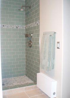 Subway tile showers, Tile showers and Subway tiles on Pinterest