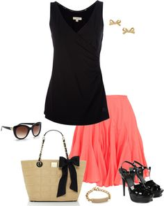 """Flounced Skirt"" by jpschwartz on Polyvore"