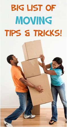BIG List of Moving Tips and Tricks