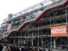 Centro Georges Pompidou Renzo Piano e Richard Rogers Paris - Renzo Piano, Louise Bourgeois, Man Ray, Richard Hamilton, Centre Pompidou Paris, Georges Pompidou, Gates Of Hell, Ile Saint Louis, Max Ernst