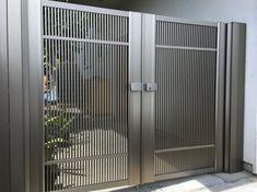 Gate Series — KunkelWorks Modern Iron Gate Designs, Modern Steel Gate Design, Iron Main Gate Design, Home Gate Design, Gate Wall Design, Grill Gate Design, House Main Gates Design, Front Gate Design, Door Design Interior