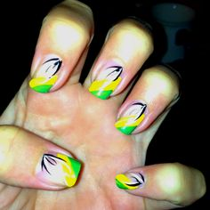 Day four beach nails