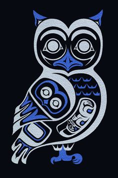 Owl III, April White (Haida)
