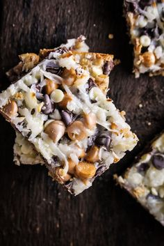 Classic Seven-Layer Bars. My grandma Vanderwall used to make these and they were amazing