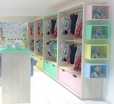 Jewelry Store Design, Clothing Store Design, Boutique Interior, Kids Store Display, Clothing Store Displays, Kids Boutique, Kids Decor, Home Decor Accessories, Decor Inspiration