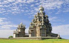 Уникальная православная святыня - Кижи фото.