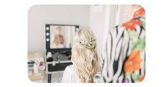 Boho Waves, Hair Looks, Bridal Hair, Beauty, Style Of Hair, Cosmetology, Wedding Hairs, Hairdo Wedding, Bridal Hairstyles