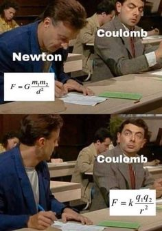 Memes for science, engineering, and technology lovers. Physics Jokes, Funny Science Jokes, Math Memes, Student Memes, Nerd Jokes, Funny School Jokes, Very Funny Jokes, Nerd Humor, Really Funny Memes