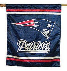 New England Patriots vertical flag - Sports Nut Emporium