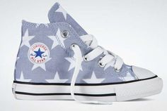 Converse Stars Hi-tops - so cute paired with a skirt and BabyLegs
