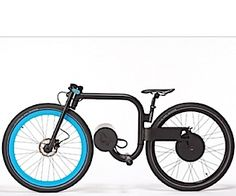 Very cool electric bike. Want!