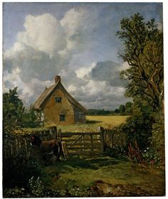 The Cottage in a Cornfield | Constable, John