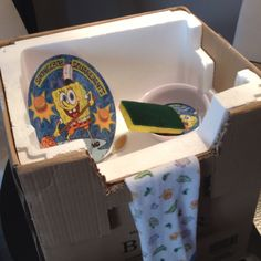 Homemade toddler play sink