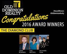 Award Winners, The Diamond Club!