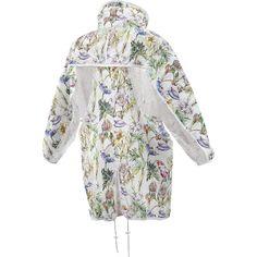 Adidas X Stella McCartney Run Parka White/Floral Womens Jacket | Wooki