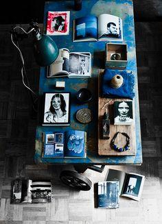 Méchant Studio Blog: loving dark blue