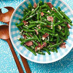 Bacon-Blue Cheese Beans