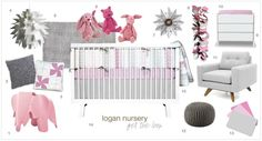 See our design board in honor of Olli & Lime's new Logan collection.
