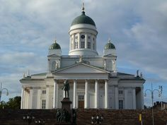 Tuomio Kirkko Helsinki Cathedrals, Helsinki, Finland, Taj Mahal, Architecture, Building, Travel, Voyage, Buildings